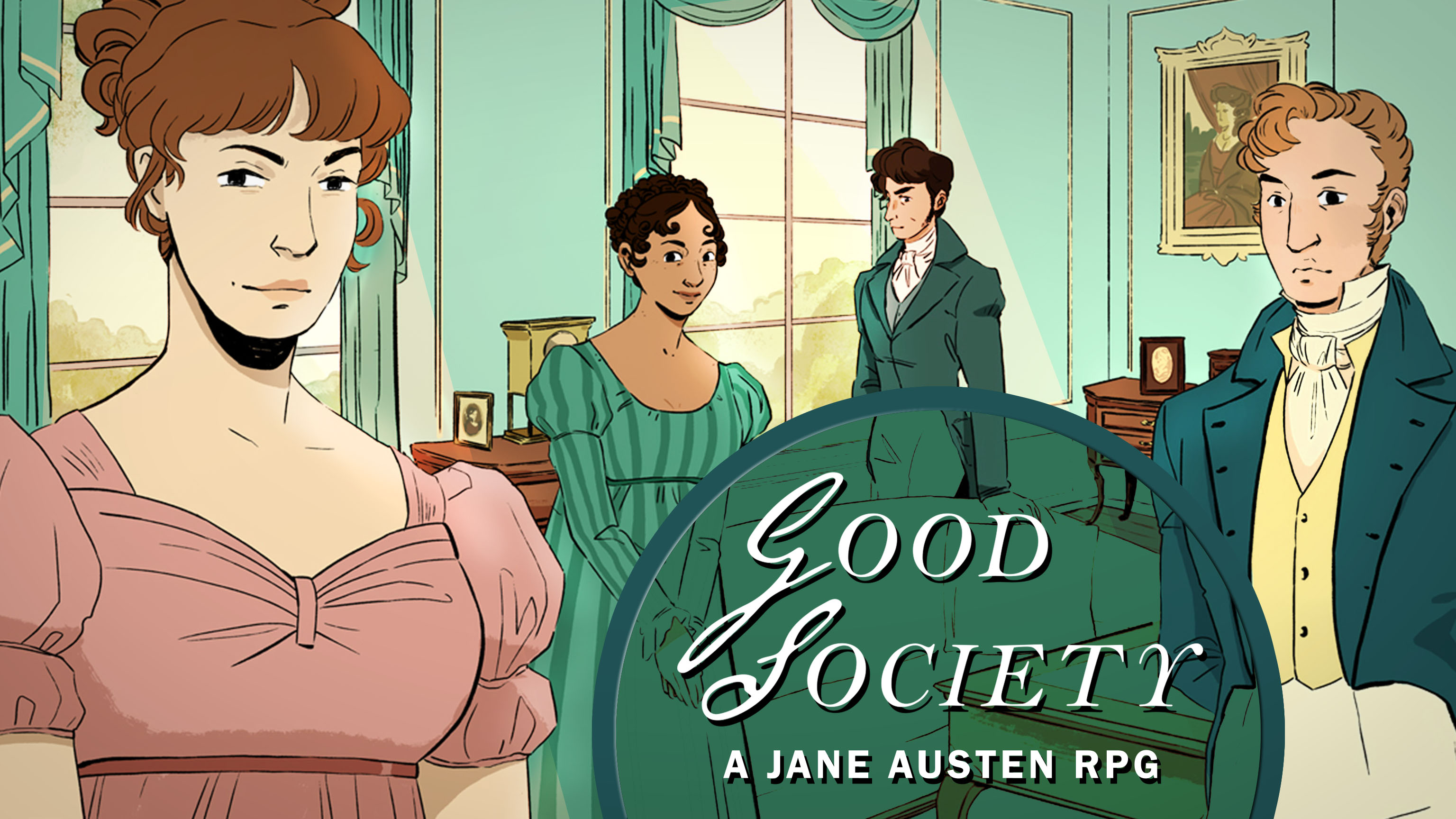 Good Society - A Jane Austen Roleplaying Game